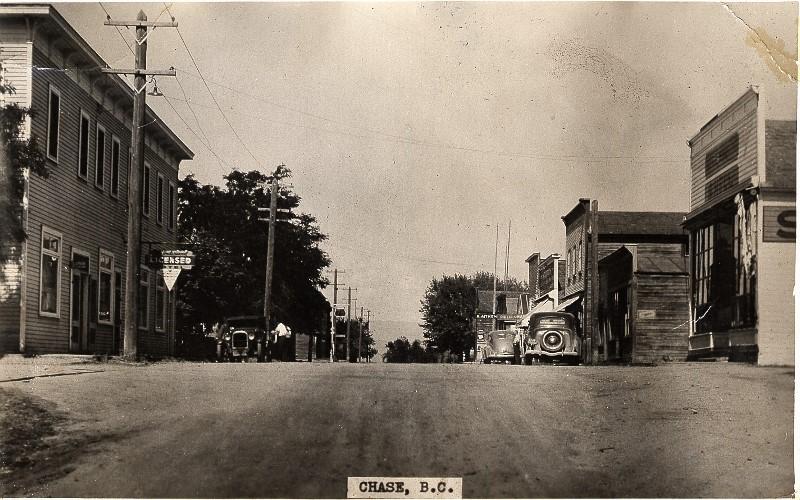 History of Chase BC Main St